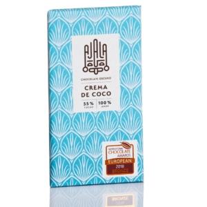 Tableta de chocolate Ajala crema de coco 55% cacao al mejor precio