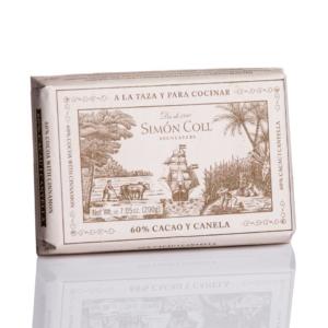 Chocolate a la taza 60% Cacao y Canela Simon Coll