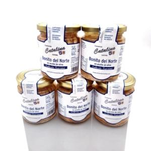 Pack oferta 5 tarros de Bonito Catalina 240 grs a domicilio