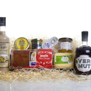 Cesta regalo gourmet original Asón a domicilio