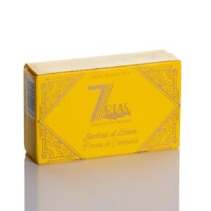 Sardinas al limón en conserva 7 rías online