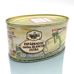 Comprar online Espárrago de Navarra corto blanco extra conservas Rosara