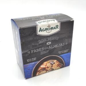 Fabes con almejas conservas Agromar para comprar online