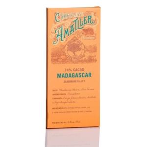 Comprar Amatller chocolate 74% cacao Madagascar 70 grs