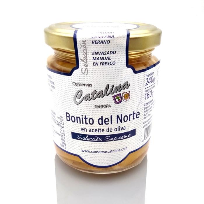 Comprar bonito del norte en aceite de oliva Conservas Catalina al mejor precio