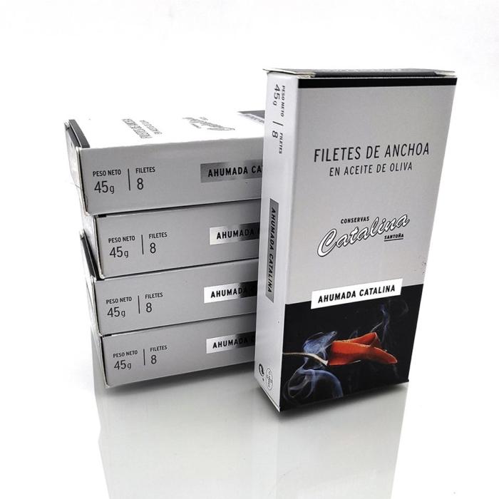 promocion 5 octavillos de anchoas ahumadas conservas Catalina al mejor precio online